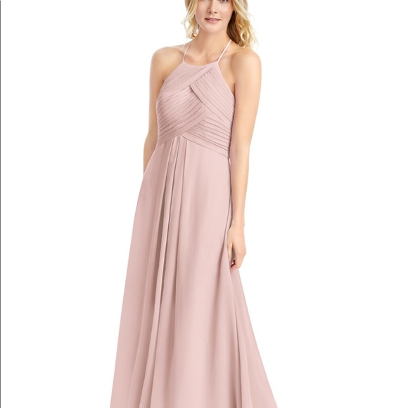 Azazie Dresses & Skirts - Azazie Ginger Dusty Rose Bridesmaid Dress 8